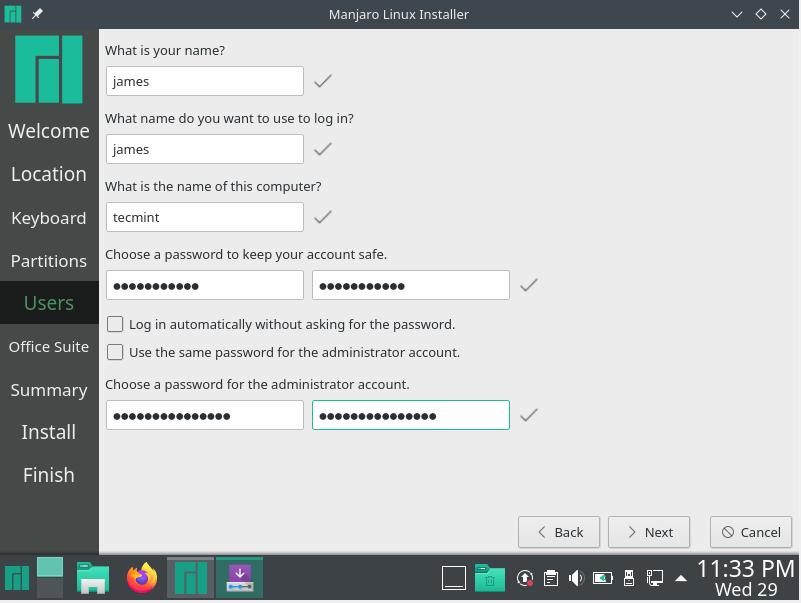 Crear cuenta de usuario