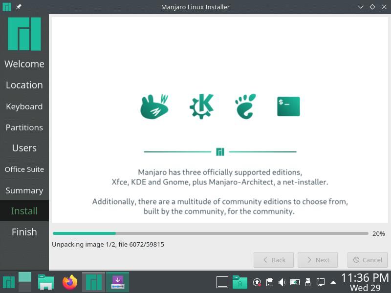 Instalación de Manjaro Linux