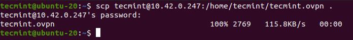 Importar configuraciones de cliente OpenVPN