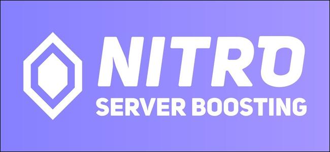 El logotipo de Discord Nitro Server Boosting.