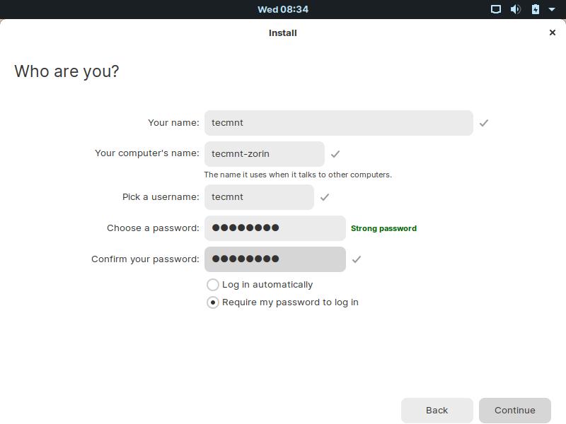 Crear nuevo usuario
