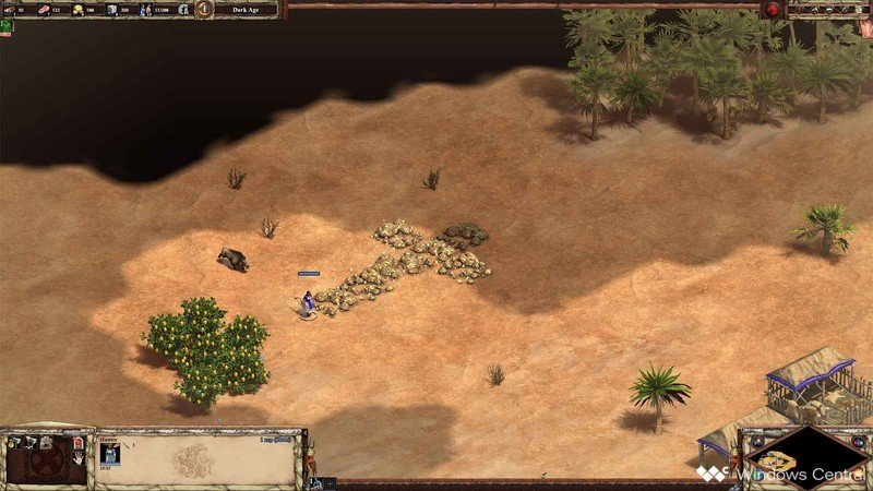Age Of Empires II Scout Rush jabalí