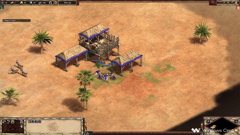 Age Of Empires II Scout Rush ovejas