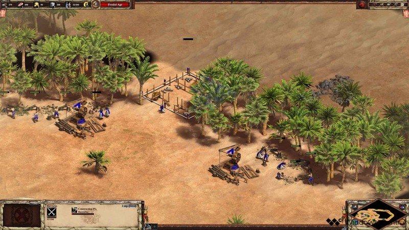 Cuarteles de Age of Empires II Scout Rush
