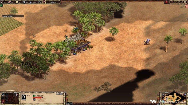 Edad de los imperios II Scout Rush Stall