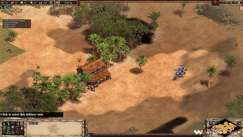 Age Of Empires II Scout Rush Knights