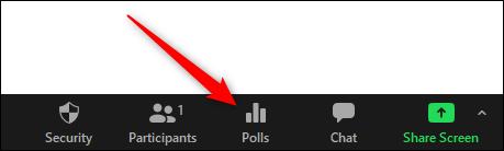 Opción de encuesta en reunión de zoom