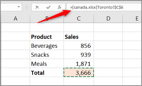 Enlace a otro libro de Excel