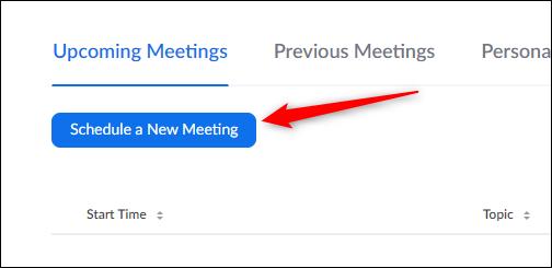 Programar un nuevo botón de reunión