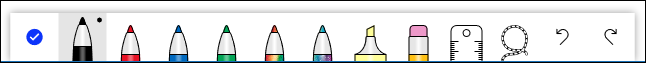 Las herramientas de color.