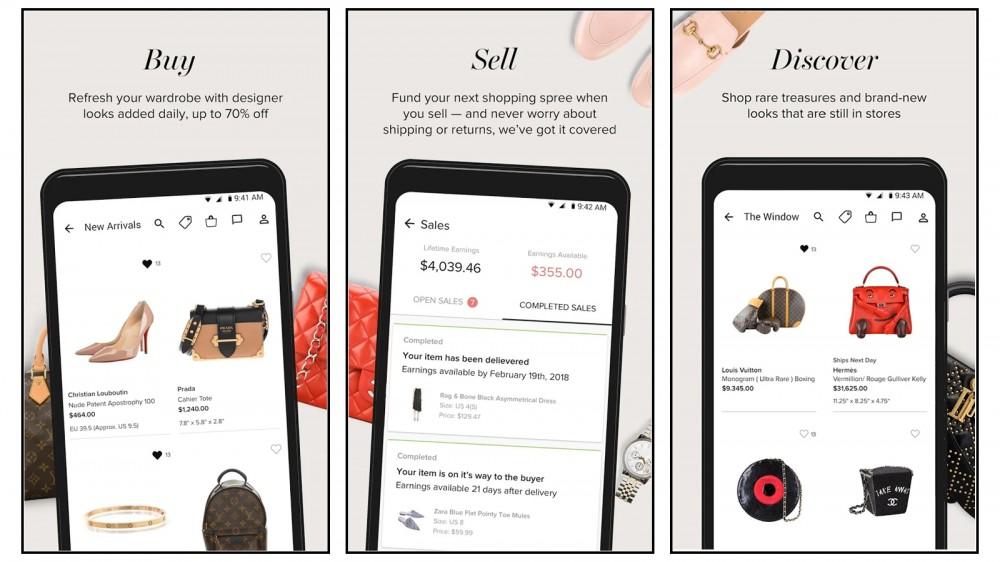 Tradesy compra y vende bolsos de diseñador usados, ropa, zapatos, joyas