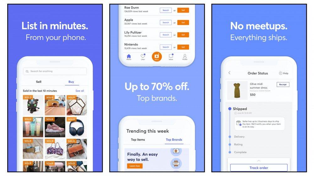 Mercari La mejor tienda en línea para productos usados para el envío sin reuniones personales
