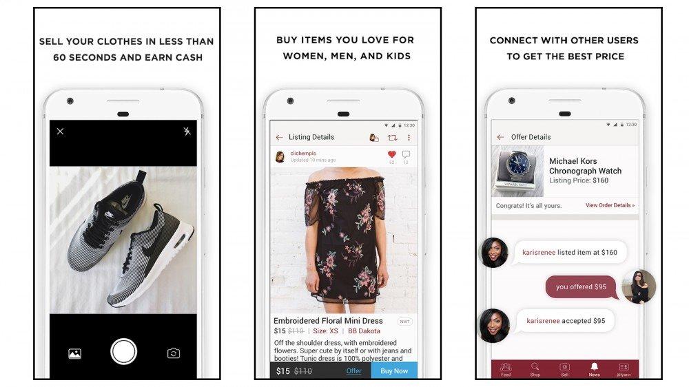 Los mejores estilos de diseñador comunitario de compra y venta de segunda mano en línea de Poshmark