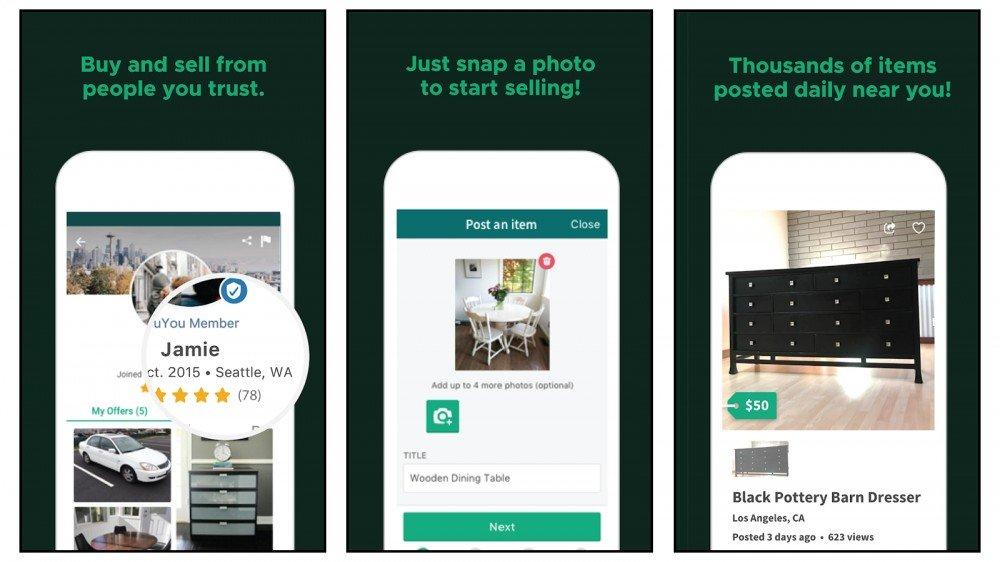 OfferUp Compre y venda sus productos en el sitio y conviértase en un vendedor en línea