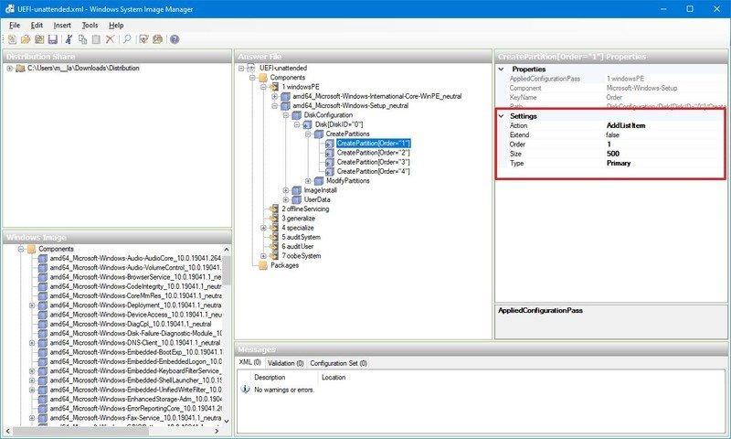 Partición de recuperación de Windows (WinRE)