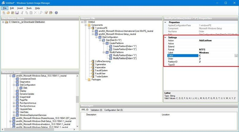 Partición de Windows 10 en formato BIOS