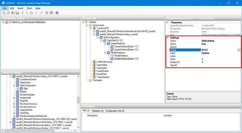 Partición de arranque en formato BIOS