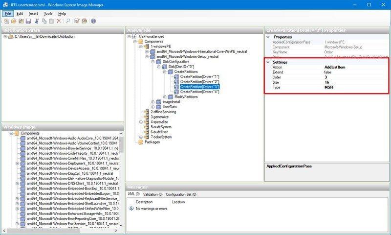 Partición MSR (Partición reservada de Microsoft)