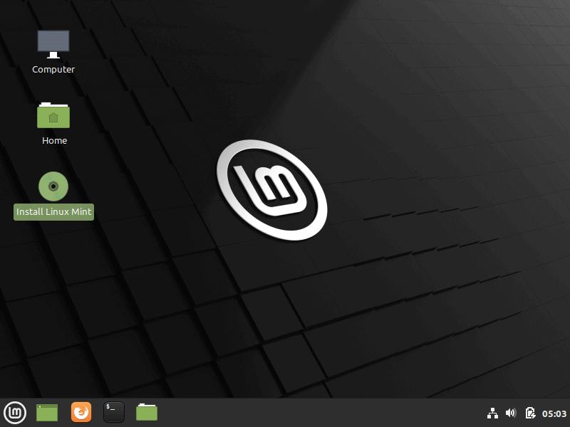 Elija Instalar Linux Mint