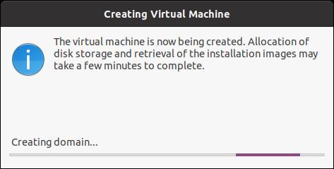 Crea una máquina virtual