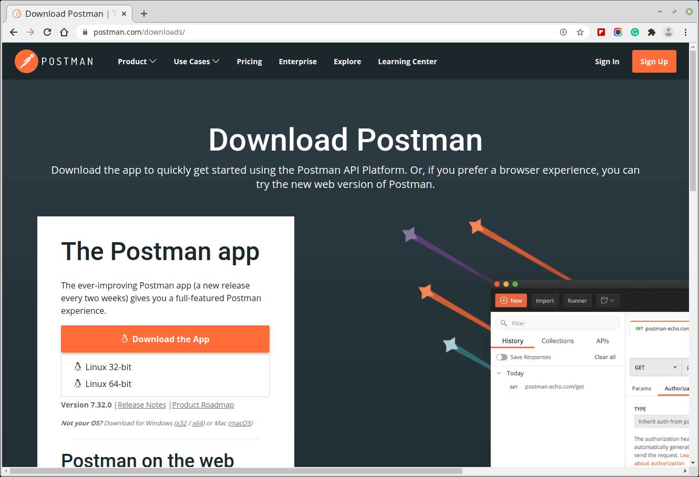 Descarga la aplicación de escritorio Postman