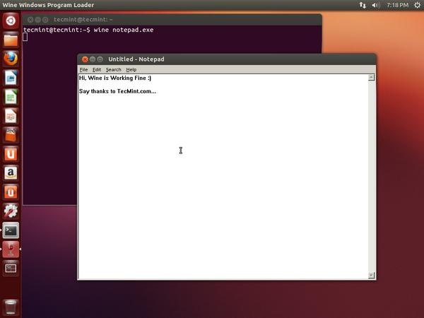 Iniciar Wine en Ubuntu